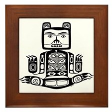 AbOriginalz Tlingit Bear Framed Tile