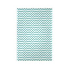 Blue Chevron Magnets