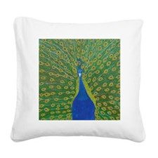 Dulce_Peacock_DSC_0011 Square Canvas Pillow