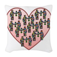 Cute Pdd Woven Throw Pillow