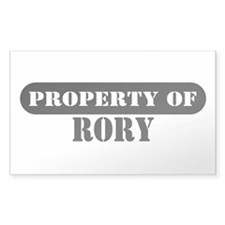 Property of Rory Rectangle Decal