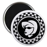 "Rude Girl Emblem 2.25"" Magnet (100 pack)"