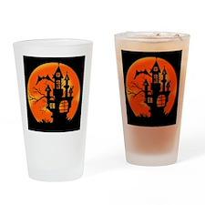 Halloween Moon Drinking Glass