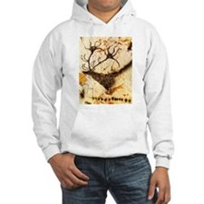 Stags Head Cave Painting Hoodie