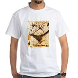Stags Head Cave Painting Shirt