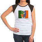 Four Provinces Shield Women's Cap Sleeve T-Shirt