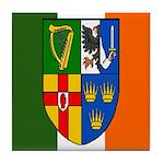 Four Provinces Shield Tile Coaster