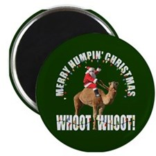 Merry Humpin Christmas Santa and Hump Day Camel Ma