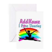 BALLET DANCER Greeting Card