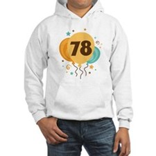 78th Birthday Party Hoodie