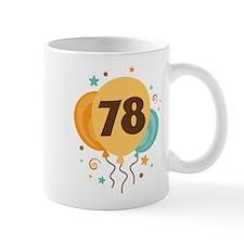 78th Birthday Party Mug