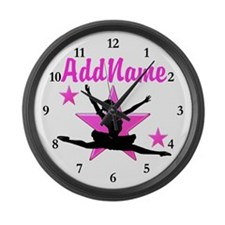 DANCE SUPER STAR Large Wall Clock