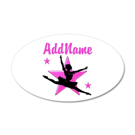 DANCE SUPER STAR 20x12 Oval Wall Decal