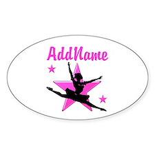 DANCE SUPER STAR Bumper Stickers