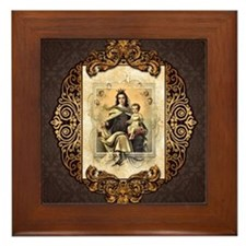 Our Lady of Mt Carmel Framed Tile