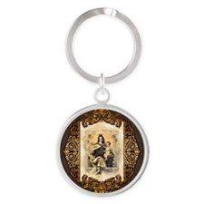 Our Lady of Mt Carmel Keychains