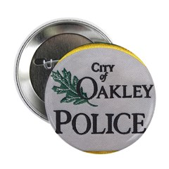 "Oakley Police 2.25"" Button (100 pack)"