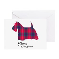 Terrier - Sims Greeting Card