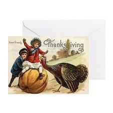 Vintage Thanksgiving Greeting Card