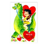 Cave Boy & Dinosaur Postcards (Package of 8)