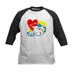 Cup o' Tea Kids Baseball Jersey