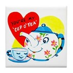 Cup o' Tea Tile Coaster