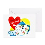Cup o' Tea Greeting Cards (Pk of 10)