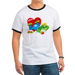 Froggy Valentine Ringer T