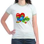 Froggy Valentine Jr. Ringer T-Shirt