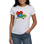 Froggy Valentine Women's T-Shirt