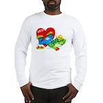 Froggy Valentine Long Sleeve T-Shirt