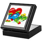 Froggy Valentine Keepsake Box