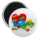 Froggy Valentine Magnet
