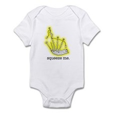 Squeeze Me. (Bagpipes) Infant Bodysuit