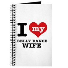 I love my belly dance wife Journal