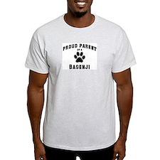 Basenji: Proud parent Ash Grey T-Shirt