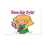 Future Hair Stylist Mini Poster Print