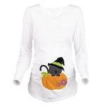 Halloween Witch Cat Pumpkin Baby Long Sleeve Mater