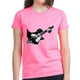 Black and White Guitarist Tee