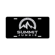 Summit Junkie Aluminum License Plate