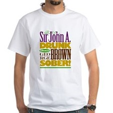 John A. DRUNK (FRONT) Justin T. STONED (BACK)