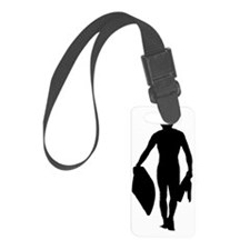Bodyboarder Luggage Tag
