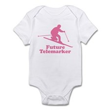 Pink Future Telemarker Infant Bodysuit