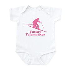 Pink Future Telemarker Onesie
