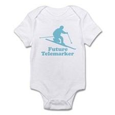 Blue Future Telemarker Infant Bodysuit