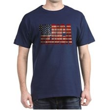 Vintage MERICA U.S. Flag T-Shirt