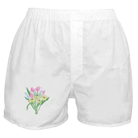 Valentine Bouquet Boxer Shorts