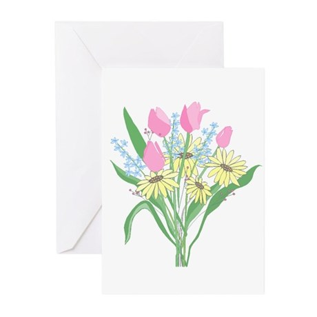 Valentine Bouquet Greeting Cards (Pk of 10)