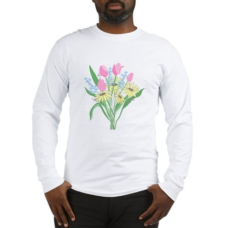 Valentine Bouquet Long Sleeve T-Shirt
