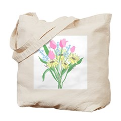Valentine Bouquet Tote Bag